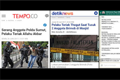 Ahok Hina Islam Teroris Diam Saja, Saat Ahok Dipenjara Teroris Merajalela, Ente Pikir Kita Goblok?