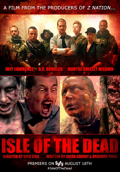 Isle of the Dead 2016 720p WEB-HDRip Dual Audio Hindi 700 MB