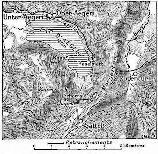 Le plan de Morgarten