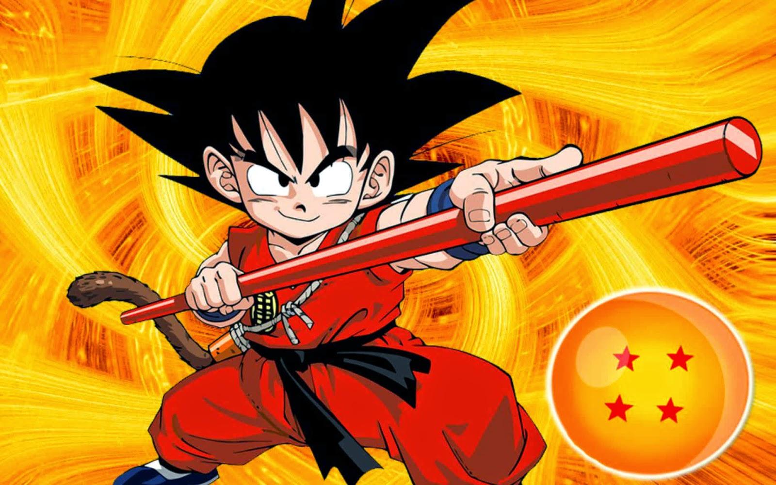 Dbz 3d Wallpapers Dragon Ball Kid Goku Wallpaper Hd O Wallpaper Picture