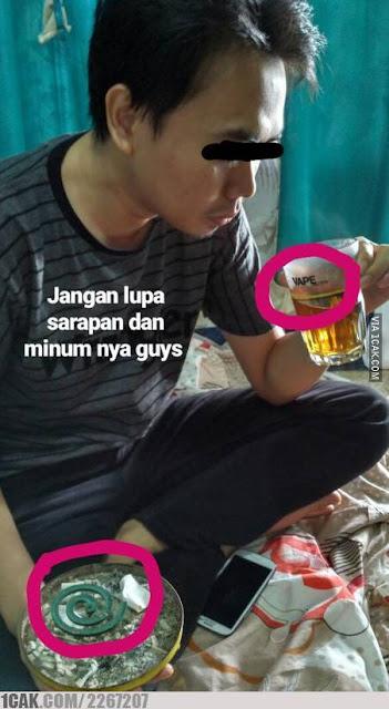 10 Meme Lucu 'Menu Sarapan Orang Indonesia' Ini Bikin Geleng-geleng Kepala