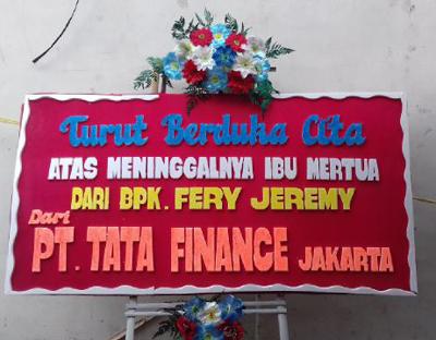Jual Bunga Papan Manado | WA: 081805604623 Toko Bunga Manado Liana Florist