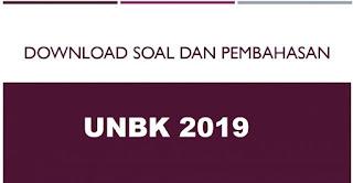 Download Soal UNBK SMA/MA 2018/2019