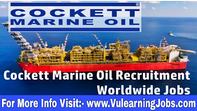 Cockett Marine Oil Career & Jobs 2019 In Worldwide