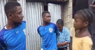 Man Arrested While Trying To Kidnap A Little Girl For Ritual Purpose (Video)