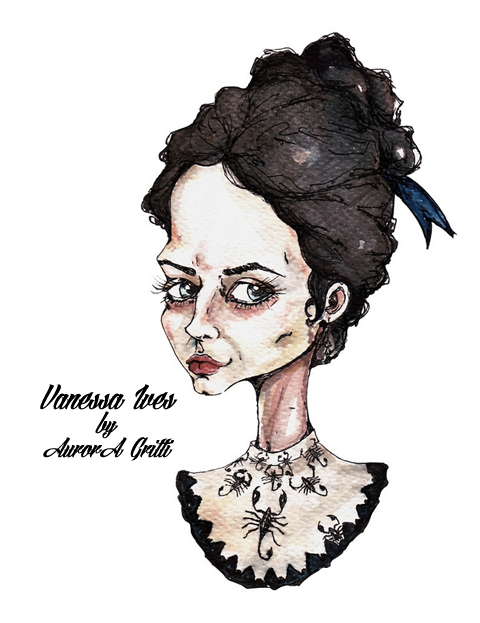 Eva Green fan art inspired by her role in Penny Dreadful