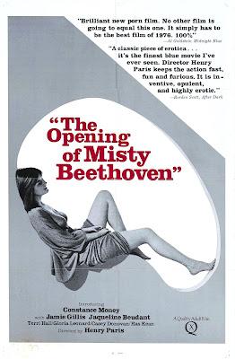 The opening of Misty Beethoven plakat filmu erotycznego