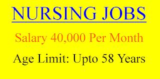 Staff Nurse Jobs- 40000 Salary in Haryana