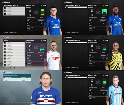 PES 2021 MiXed Facepack 11