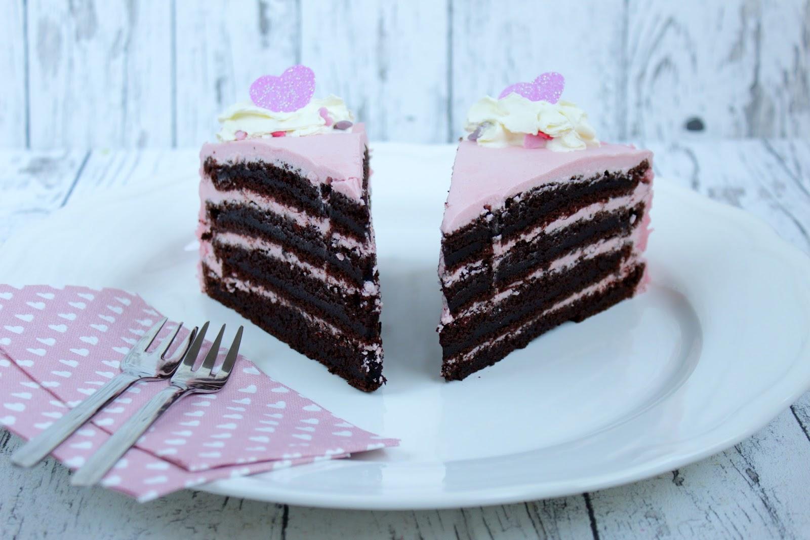 Schokokuchen Fur 2 Valentinstag Kuchen