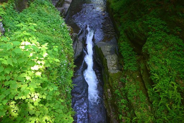Gorge Trail Robert H. Trehman State Park waterfall