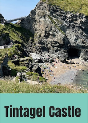 Family review day out at Tintagel Castle