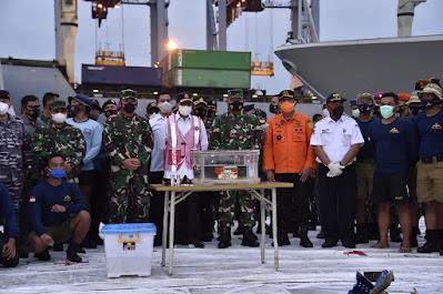 Panglima TNI : Lokasi Penemuan FDR Pesawat Sriwijaya Air SJ-182 Sesuai Perkiraan