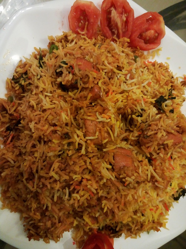 Kanwal 39 s kitchen blog tandoori chicken biryani for Chicken biryani at home
