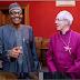 (PHOTOSPEAK) President Muhammadu Buhari's Meeting With Archbishop Of Canterbury In London Today