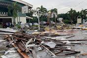 Melaka Dilanda Angin Topan, Langit-Langit Sekolah Roboh, 6 Siswa Terluka