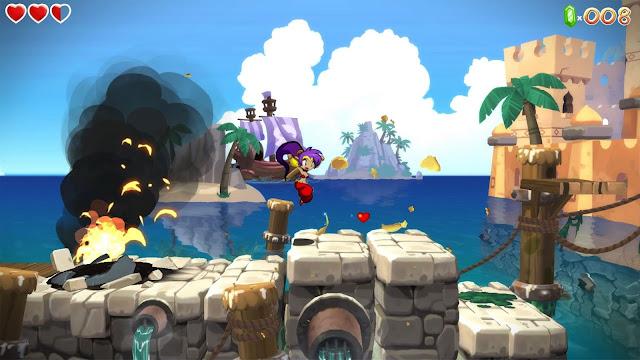 Se muestra más de una hora de juego de Shantae: Half-Genie Hero