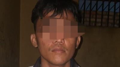 Anak Kandung Bunuh Ayahnya di Rumbio Kampar, Pelaku Diamankan Polisi