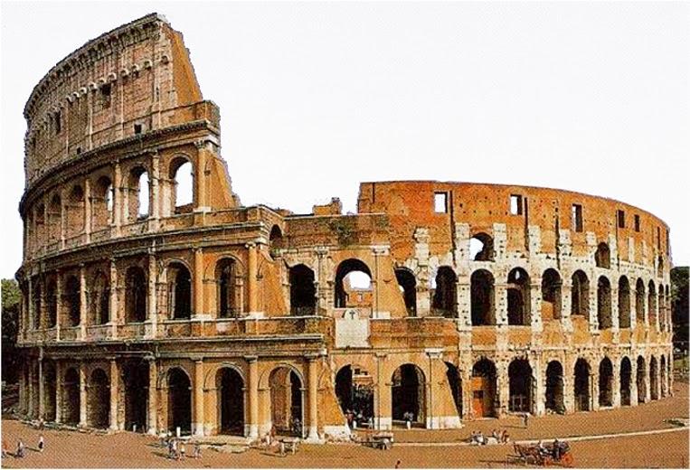 Magnifiek Romeinse cultuur: Romeinse bouwkunst &RS35