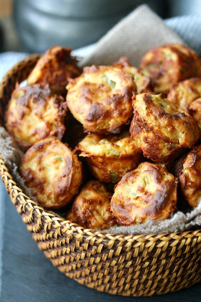 Jalapeño Cheddar Mini Muffins