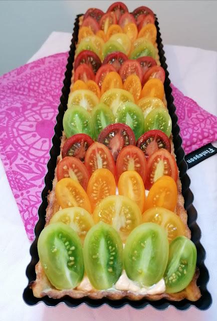 tomaatti-vuohenjuustopiiirakka somaarki