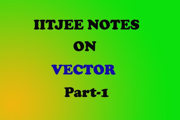 vector notes physics