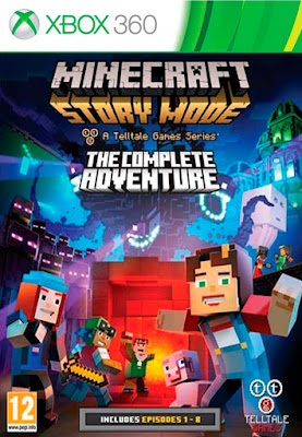 Minecraft: Story Mode – The Complete Adventure (LT 3.0) Xbox 360 Torrent