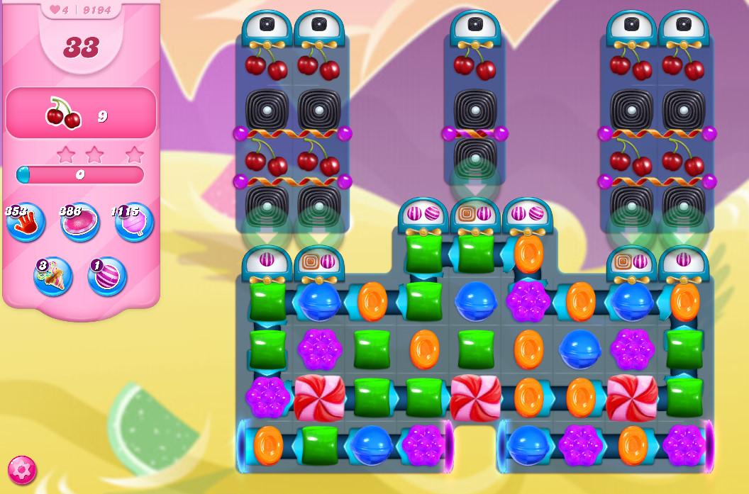 Candy Crush Saga level 9194