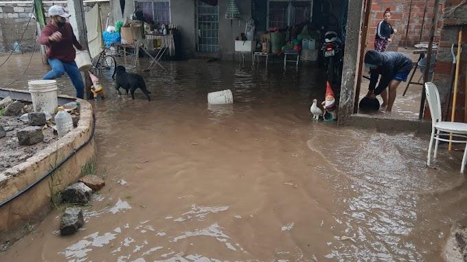 Evalúan ampliar obras de Desagües para un sector de La Ribera así evitar inundaciones
