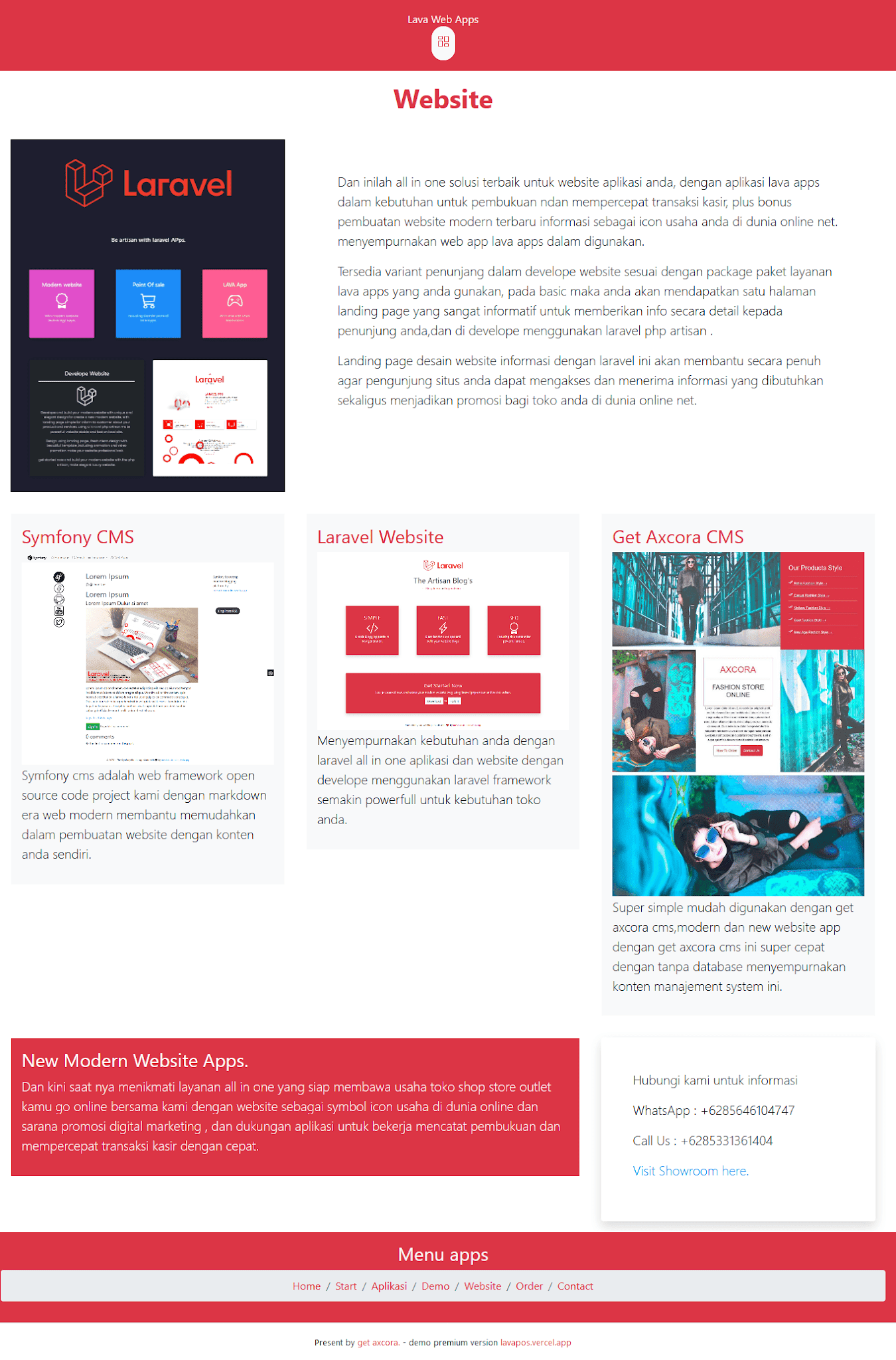 Bootstrap React free download website template themes gratis source code
