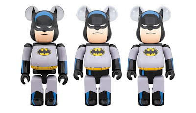 Batman: The Animated Series Be@rbrick Vinyl Figures by Medicom Toy x DC Comics