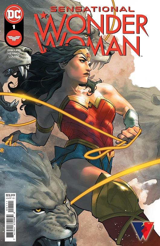 Cover of Sensational Wonder Woman #1