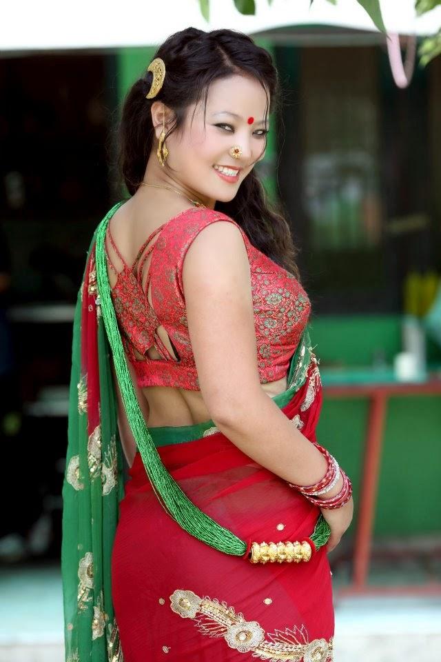 Sexy image of nepali actress