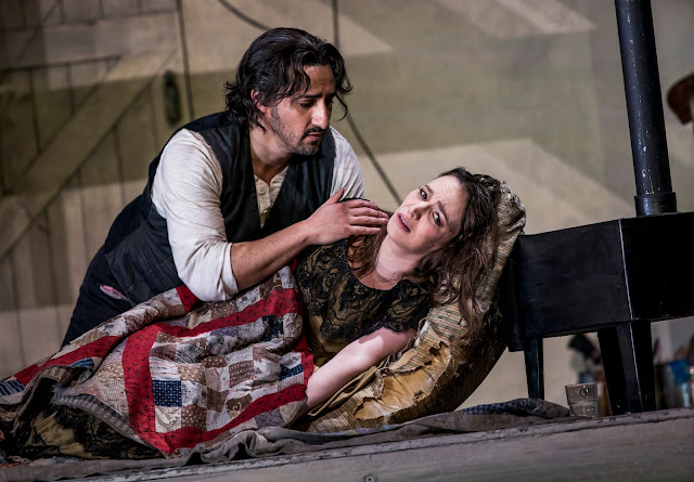 Puccini: La Bohème - Charles Castronovo, Simona Mihai - Royal Opera ((C) ROH 2020. Photo by Tristram Kenton)