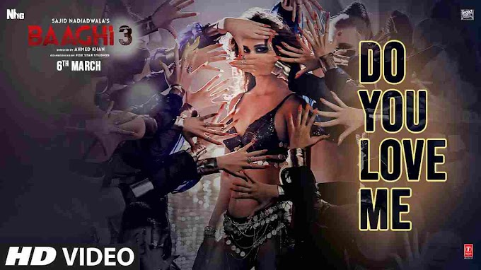 Baaghi 3 |  Do You Love Me LYRICS |