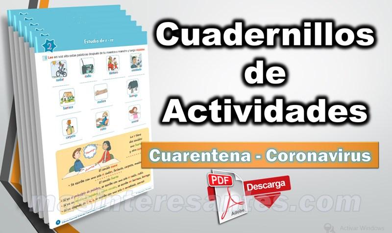 cuaderno de trabajo coronavirus