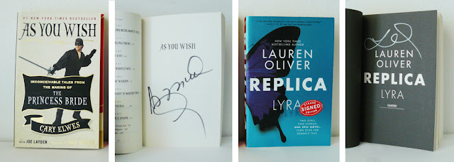 As you wish by Cary Elwes & Joe Layden // Replica by Lauren Oliver