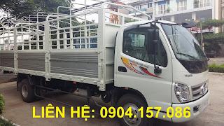 Xe Thaco Ollin 5700B tải trọng 7 Tấn Hải Phòng