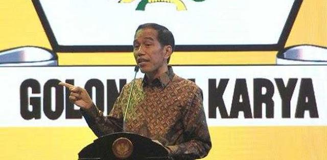 Jokowi Dan Golkar Sudah Punya Kesepakatan Soal Pilpres