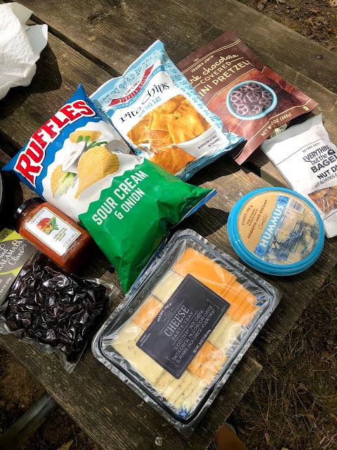 camping food ideas vegetarian