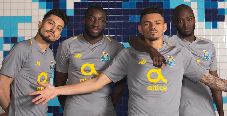 ffd98b086 New Balance and FC Porto this morning unveiled the club's brand-new 18-19  away kit, completing the collection for next season. The Porto 2018-2019  away ...