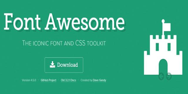 圖示字型 Font Awesome 進階使用方式教學﹍製作社群分享按鈕