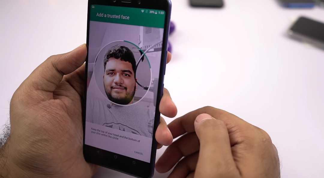 Infinix Note 5 face unlock