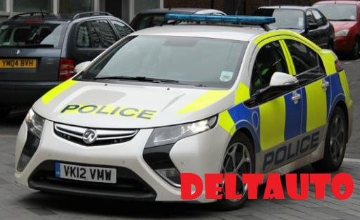 electric police car