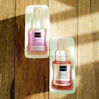 scarlett serum packaging