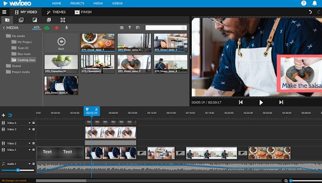 Wevideo Video Editor