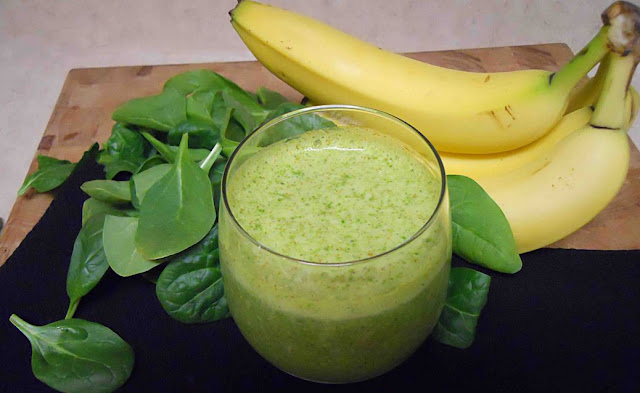 5sp - Spinach Banana Smoothie
