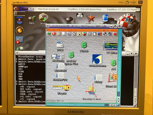 Epsilon's Amiga Blog: AmiKit Real 9 on A4000T and A1200