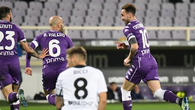 ملخص واهداف مباراة فيورنتينا و سبيزيا (3-0) الدوري الايطالي