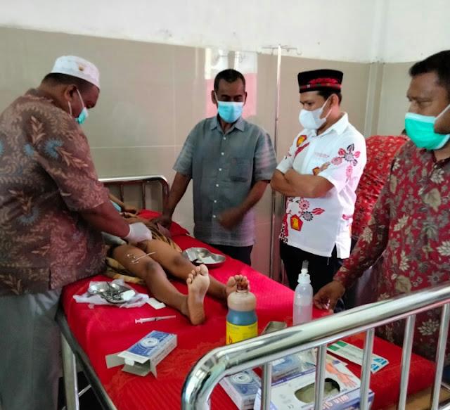 Anggota DPR RI Fadhlullah,SE Fraksi Gerindra Gelar Sunat Masal bagi Anak yatim dan  Keluarga Warga Kurang Mampu